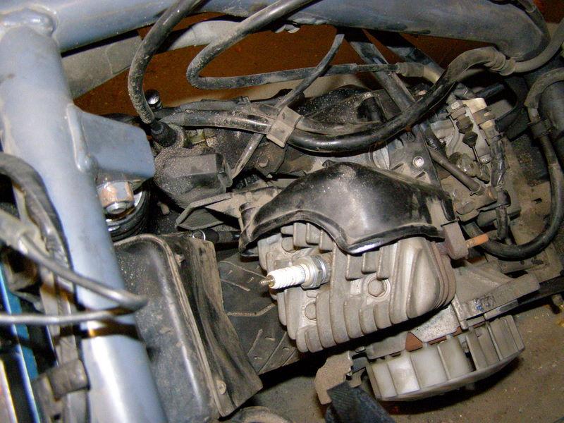 Ремонт поршневой хонда дио 27